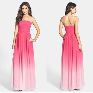 ERIN Fetherston Isabelle Dress Evening Gown Pink